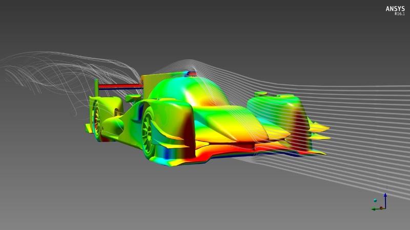 ORECA Optimizes Race Car Design With ANSYS Simulation Technology