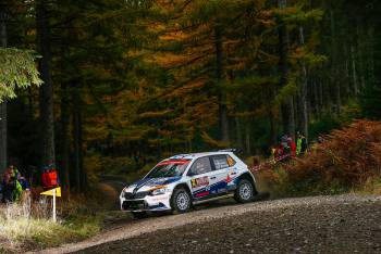 2016 - WRC2 - Wales Rally GB