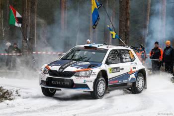 2016 - WRC2 - Suède