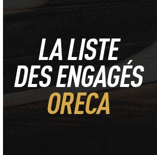 Engagés ORECA à Daytona