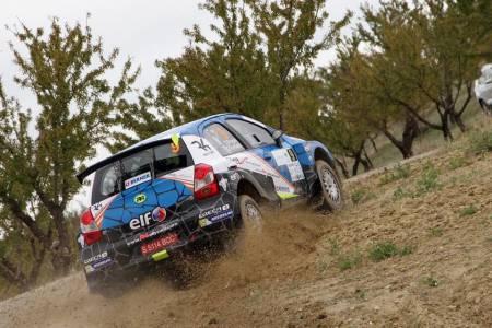 The Etios R4 and ASM Motorsport perform at Rally Ciudad de Granada