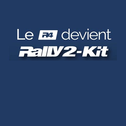 Le Kit FIA R4 devient le Rally 2-Kit