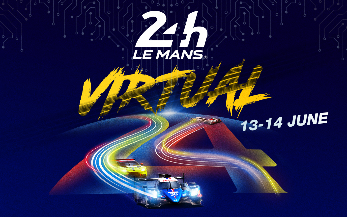 ORECA 07: the virtual 24 Hours of Le Mans LMP!
